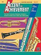 Book 3 E-flat Baritone Sax Reputation First 0018061 Accent On Achievement Alfred Publishing Co