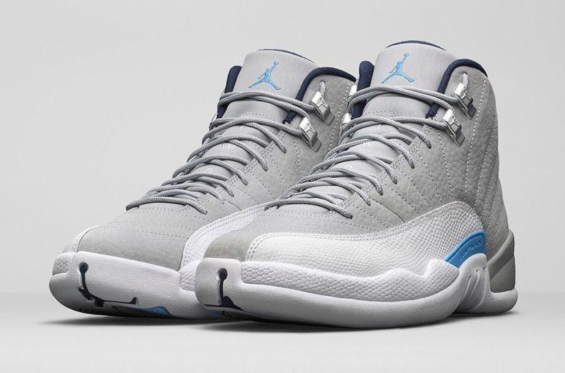buy popular 0e3bd fec56 Nike air jordan xii 12 retro - wolf grauen grauen grauen universität, blau  - weiße 130690-007 sz 9,5 46b613