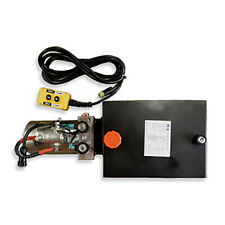 12 Volt Hydraulic Pump for Dump Trailer - 10 Quart Steel - Double Acting