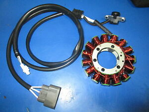 Details about YAMAHA GRIZZLY 700 / GRIZZLY 550 STATOR MAGNETO REPLACE THAT  BURNED OUT STAT