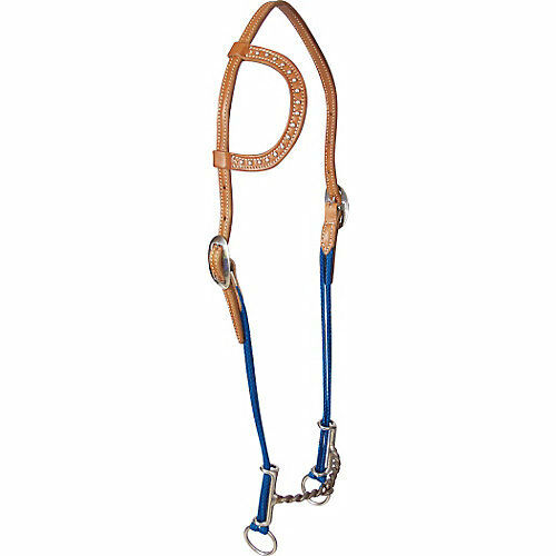 Classic Equine Loomis Twisted Single Ear Gag Headstall