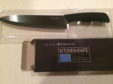 Black Tsuki 8 inch Ceramic Knife Clean BPA Free Ultra Light Great Gift 1