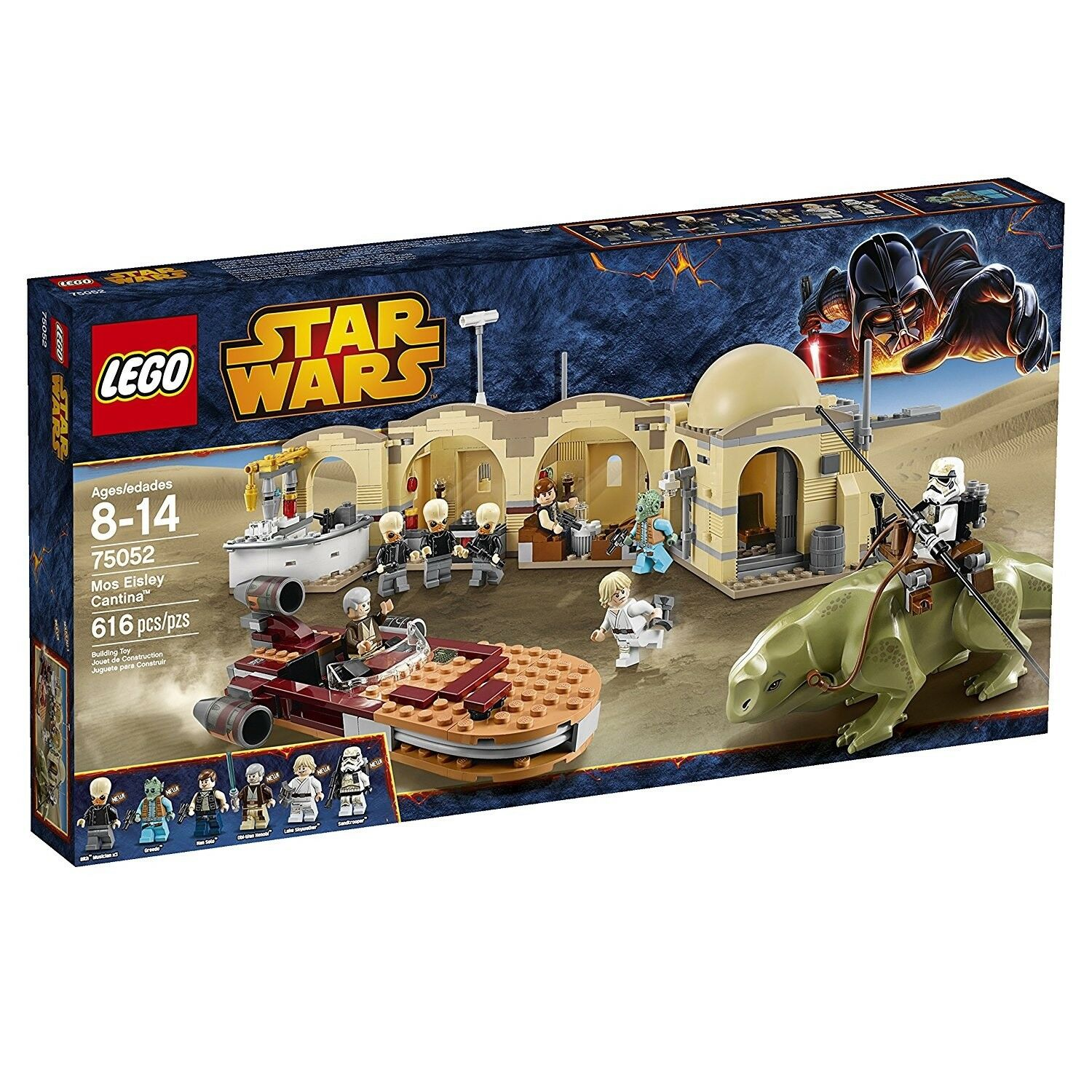 Lego 75052 Mos Eisley Cantina (MINT) Brand new and Factory sealed