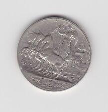 1908 Italia 2 lire moneta argentea