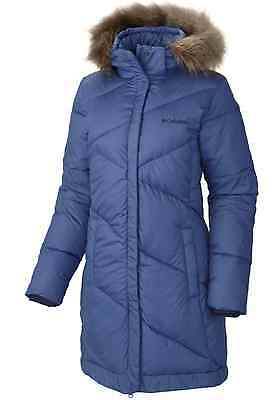 Columbia womens Snow Eclipse water resistant mid length winter jacket parka S
