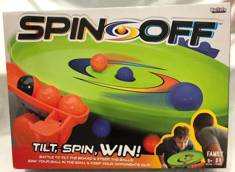 Buffalo Games SPIN  OFF Jeu Action Battle for Gravity 2 Player nouveau FUN  les derniers modèles