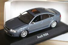 1:43 Audi RS6 2002-2004 daytona grau C5 MINICHAMPS grey 2 3 4 5 6 7 8 a6 s6