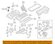 BMW 11427548322 Genuine OEM Factory Original Drain Plug Gasket