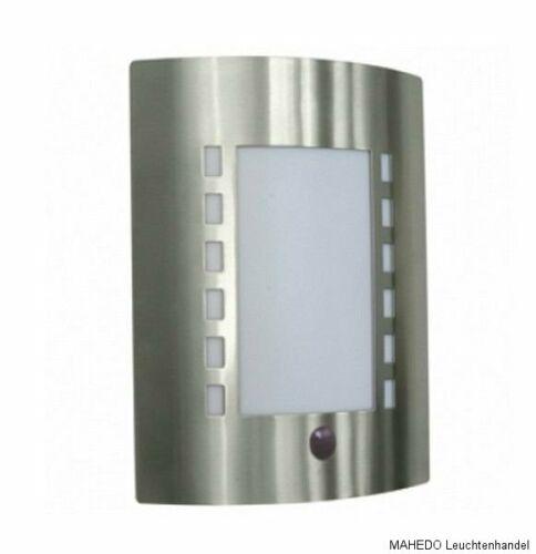Außen Außenleuchte Wandleuchte Wandlampe NORDLUX MARC Edelstahl E27 Sparlampe