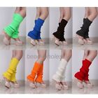 Fashion Ladies Party Legwarmers Knitted Neon Dance 80s Costume 1980s Leg Warmers