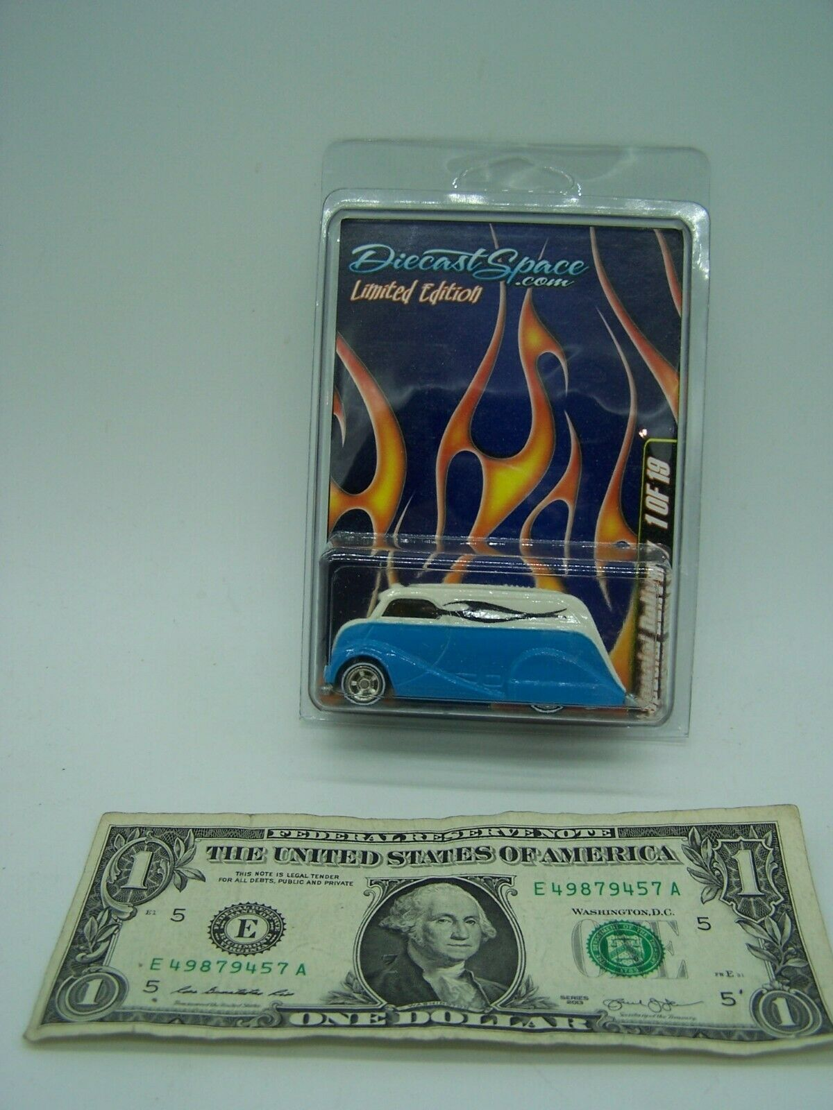 Diecast Space blueee Deco Delivery Limited Edition 1 of 19 Made - In Predector -RR