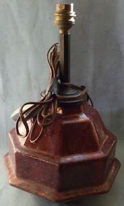 PIED-DE-LAMPE-ART-DECO-EN-FAIENCE