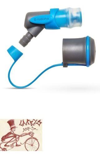 HYDRAPAK BLASTER MALIBU BLUE BLADDER DRINK TUBE BITE VALVE-W/ DUST COVER