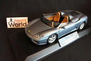 Bburago-built-transkit-Ferrari-360-1-18-034-Luca-di-Montezemolo-034-PJBB