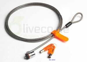 Kensington-Microsaver-Sicherheitsschloss-Latop-Sicherheitskabel-DP-N-0PU266