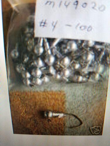 50 1//16 Round Head Jigs Bronze Sickle Hooks #6  #4  #2  #1 1//0  2//0 3//0 U Choose
