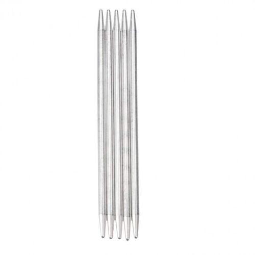 addi Nadelspiel Strumpfstricknadeln Aluminium 15cm alle Größen  201-7