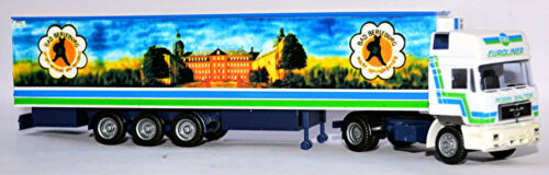 MAN F90 Hochdach Kühlkoffer-SZ Robin Walter Bad Berleburg 1:87 Albedo 800008