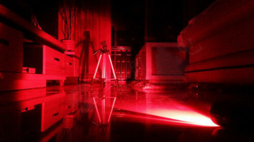 New 3W Red LED Light Black Flashlight for Aviation Astronomy /& Night Vision