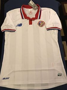 b92baefcd5f COSTA RICA AWAY SOCCER JERSEY SIZE M BARCELONA REAL MADRID MEXICO ...