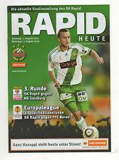 Orig.PRG   Europa League  2010/11   RAPID WIEN - BEROE STARA ZAGORA  !!  SELTEN