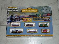 Bachmann N scale Frontiersman Train Set W// 4-4-0 Steam Locomotive /& Tender 24006