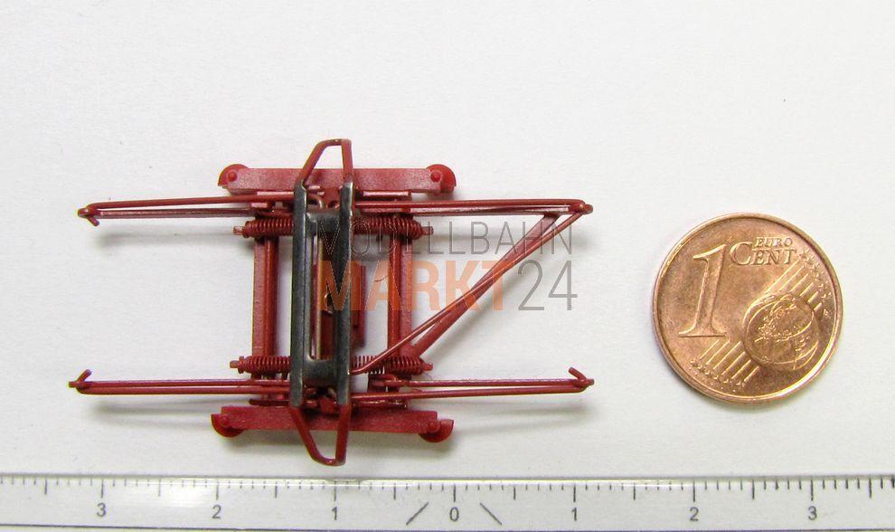 RICAMBIO-FORBICI PANTOGRAFO Rosso ad es. per Märklin Elektrolok BR 150 traccia h0-NUOVO
