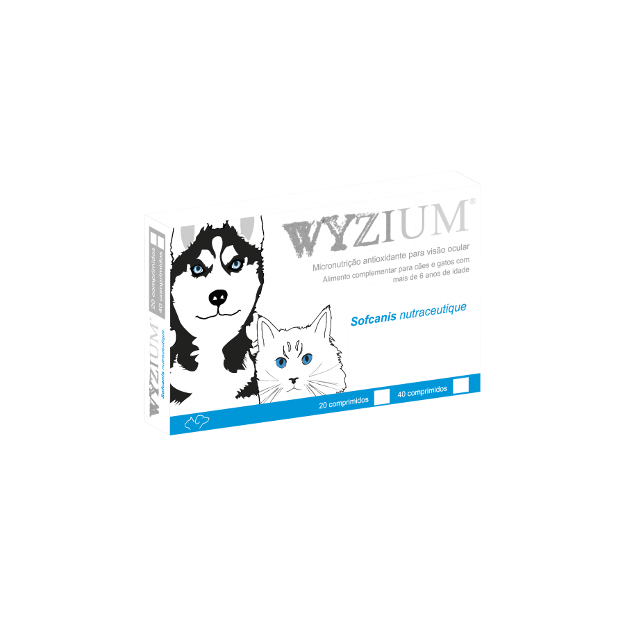 Flyingvet Wyzium Ocular Nutritional Supplement 40 Tablets, 160 Tablets