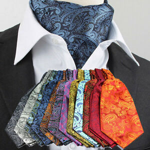 Mens Fashion Paisley Tie
