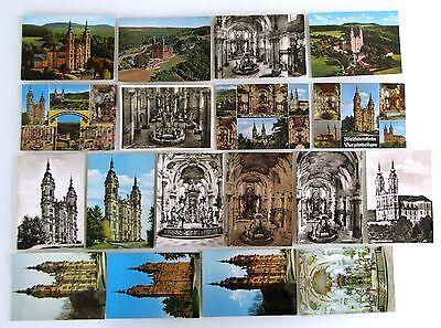 Staffelstein Basilika Vierzehnheiligen Postkarten Sammlung 18 Stück Ak Nach 1945 RegelmäßIges TeegeträNk Verbessert Ihre Gesundheit
