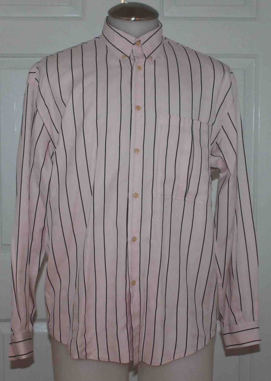 GIANNI VERSACE VINTAGE BUTTON FRONT LONG SLEEVE SHIRT MEN MED