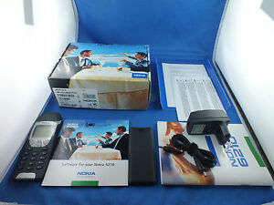 Original-Nokia-6210-Shwarz-NEU-NEW-Autotelefon-Businesshandy-Handy-Mercedes-VW