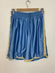 Men-039-s-Vintage-90s-Adidas-Long-Shorts-Basketball-Style-Blue-UK-Size-M-Medium