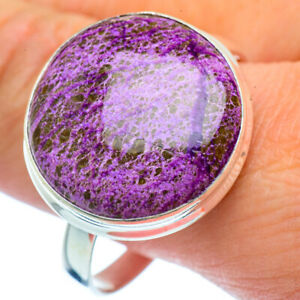 Large-Stichtite-925-Sterling-Silver-Ring-Size-15-Ana-Co-Jewelry-R37637F