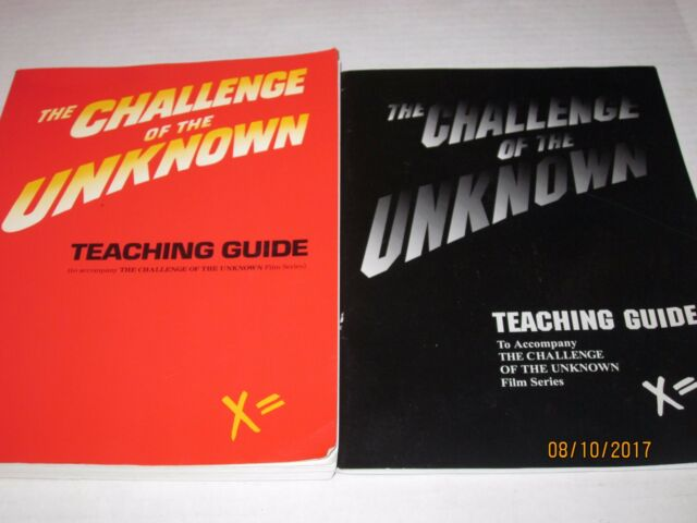 lot of 2 Challenge of the Unknown: Teaching Guide, Crimmons, J. C Books jk200