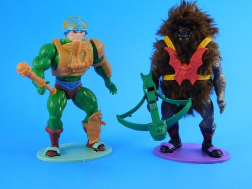 Vintage Masters of the Universe Action Figure Stands 82-88 MOTU - He-Man