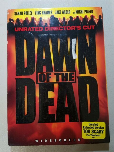 Dawn of the Dead (DVD, 2004, Unrated Directors Cut Full