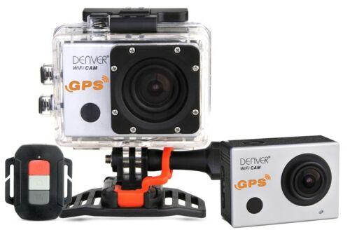 Denver acg-8050w 4k action cam con GPS WLAN cámara Sport cámara outdoor grabación