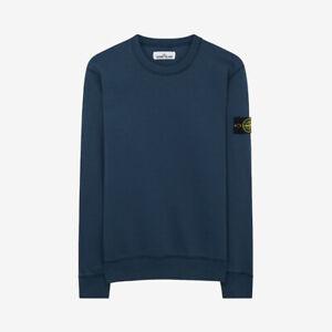 Stone-Island-Crewneck-Sweatshirt-Blue-Marine