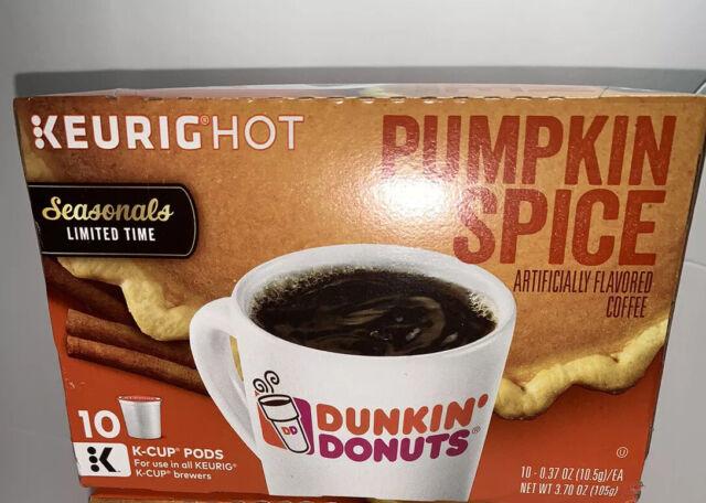 Dunkin Donuts Pumpkin Spice Coffee Limited-Time Seasonals ...