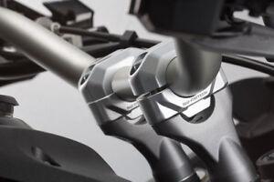 20mm Silver Handlebar Risers for for Honda Deauville, ST1100 etc