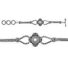 Lotti Dotties™ HEIRLOOM BRACELET - Victorian-Style, Silver Face