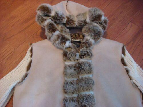 Shearling Parkhurst Nwot Jakke Large Størrelse have En Fur skal Kjole Faux wgZtU