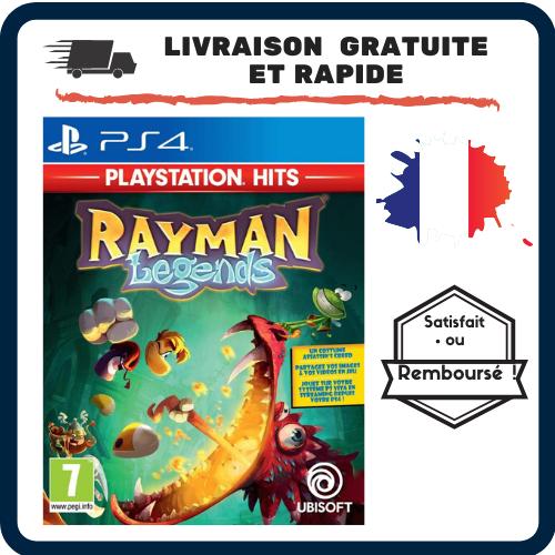 Jeu Vidéo : Rayman Legends PlayStation 4 PS4 Jeu Action Aventure Enfant Adulte