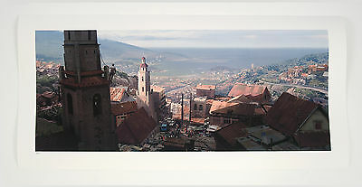 Uncharted 4 Official Fine Art Print. 'Antananarivo Vista'. Limited Edition of 70