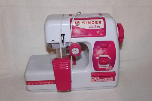 Singer A40 Zigzag Chainstitch Sewing Machine Kids 40 Toy EBay Enchanting Singer Sewing Machine For Kids