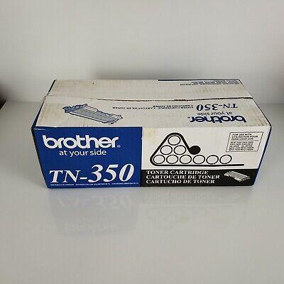 GENUINE NEW BROTHER TN-350 TN350 TONER CARTRIDGE SEALED IN GENUINE BROTHER BAG