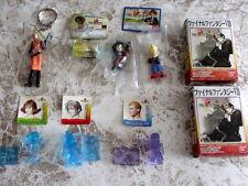 Final Fantasy VIII Lots Sets Figure Key Chain Squall Selphie Zell Quistis Laguna