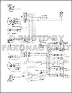 1974 1975 chevy gmc c5 c6 conventional wiring diagram c50 c5000 c60 rh ebay com 1975 chevy 350 wiring diagram 1975 chevy 350 wiring diagram