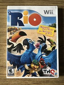 Rio-Wii-Nintendo-Wii-Complete-W-box-amp-Manual